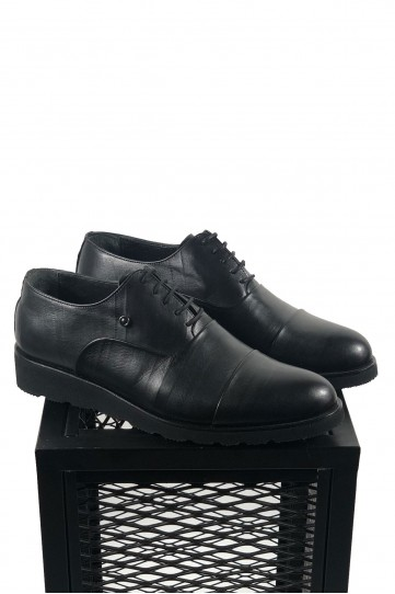 Fabia Losso Siyah Eva Taban  Su Yolu Desenli Ayakkabı