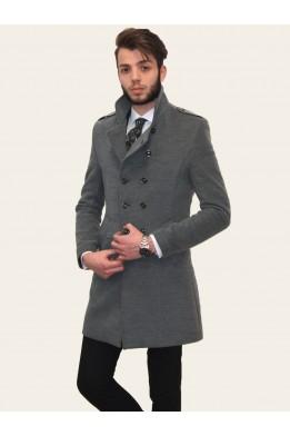 SlimFit Zara Erkek Gri Kaban